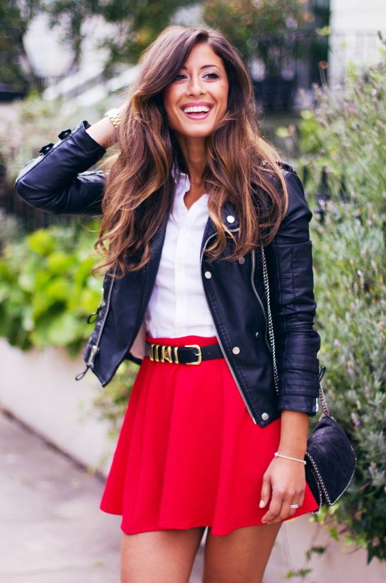 Ways To Wear A Leather Jacket For Women 2017