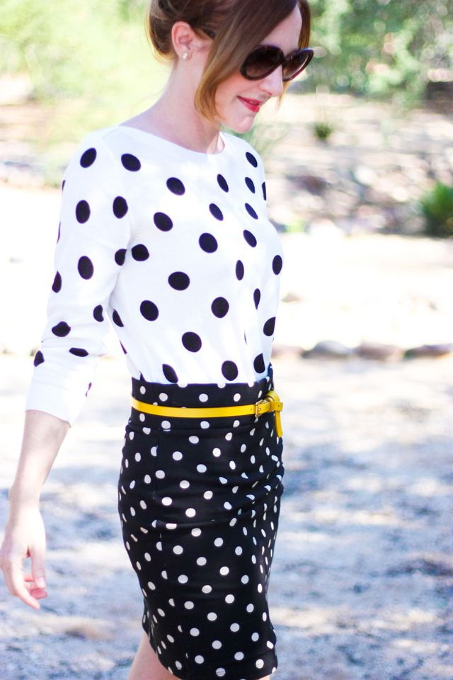 What To Wear With Polka Dot Outfits 2020