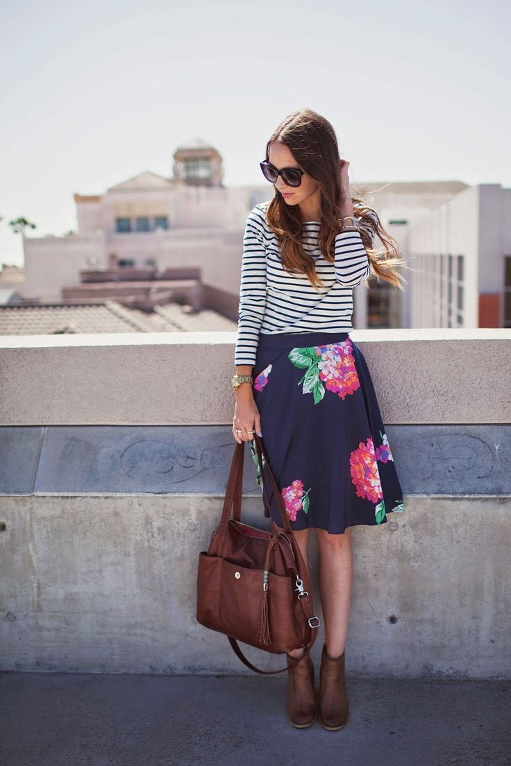 Floral Print Outfit Ideas 2020
