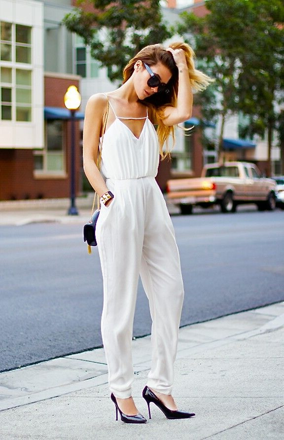 Timeless Fashion Trend: White Jumpsuits 2021