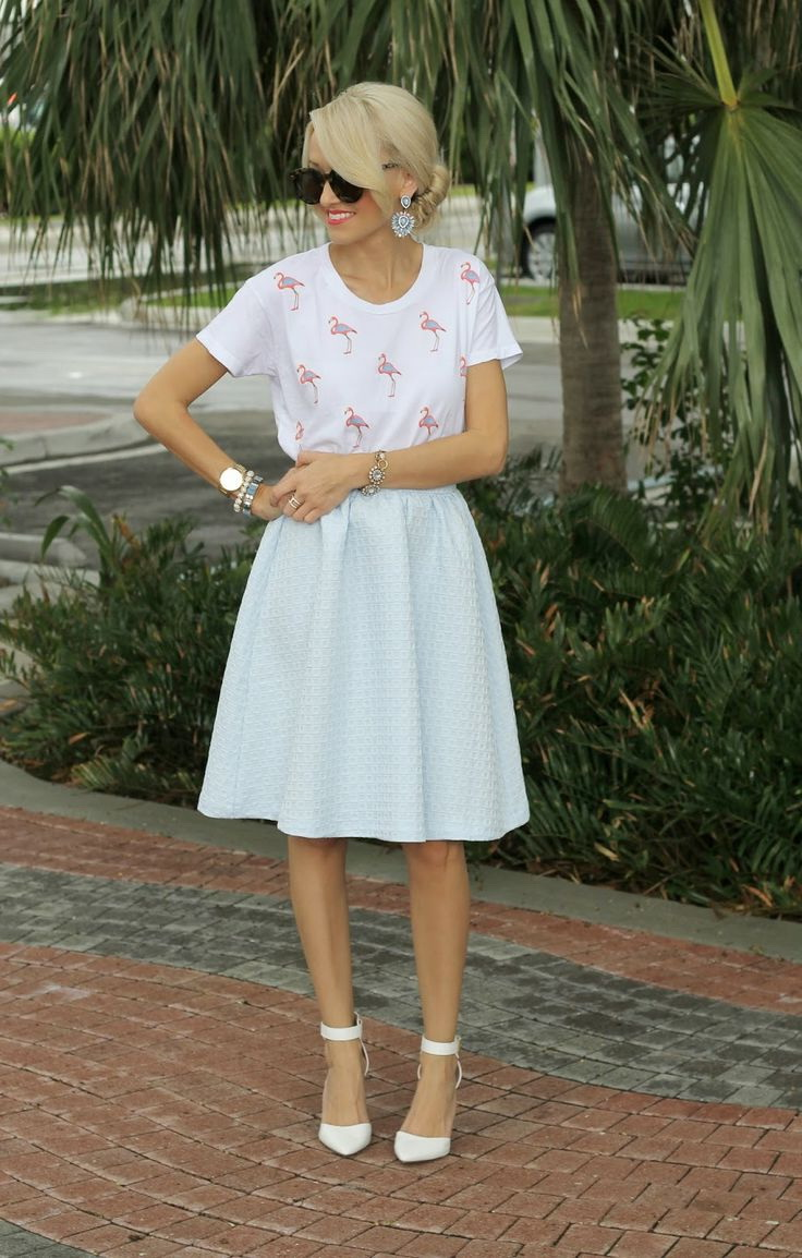 Pastel Skirts And How To Style Them 2020