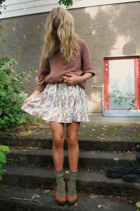 Printed Mini Skirt Outfit Ideas 2019
