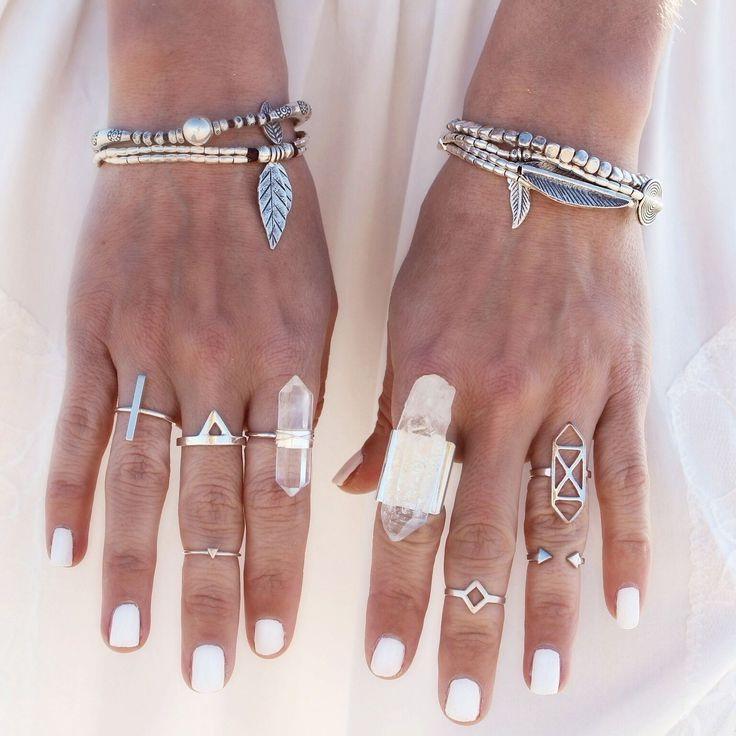 Bohemian Chic Rings 2019