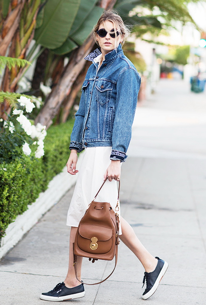 1e4474e73d 15 Ways to Style a Denim (Jean) Jacket 2019 | FashionTasty.com