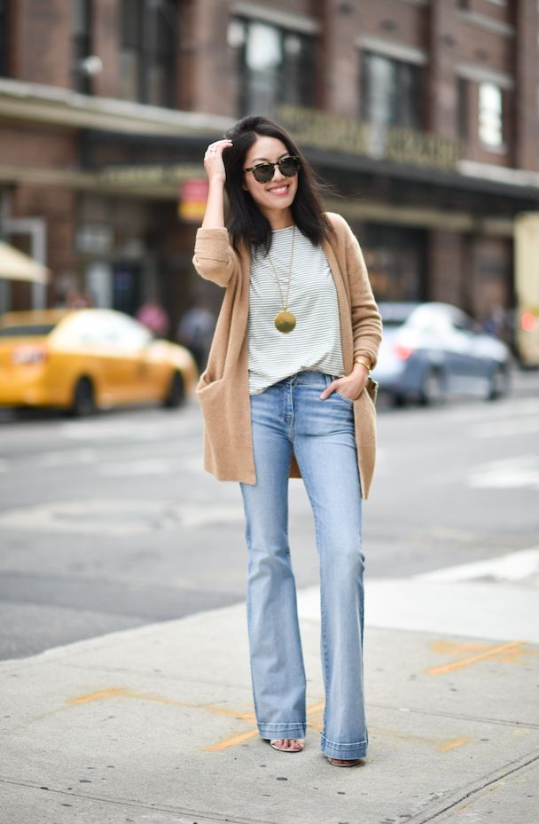 Boot Cut Jeans Outfit Ideas 2017 | FashionTasty.com