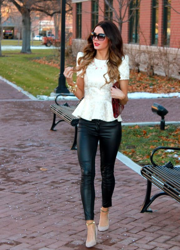 How To Wear Leather Pants (Outfit Ideas) 2021