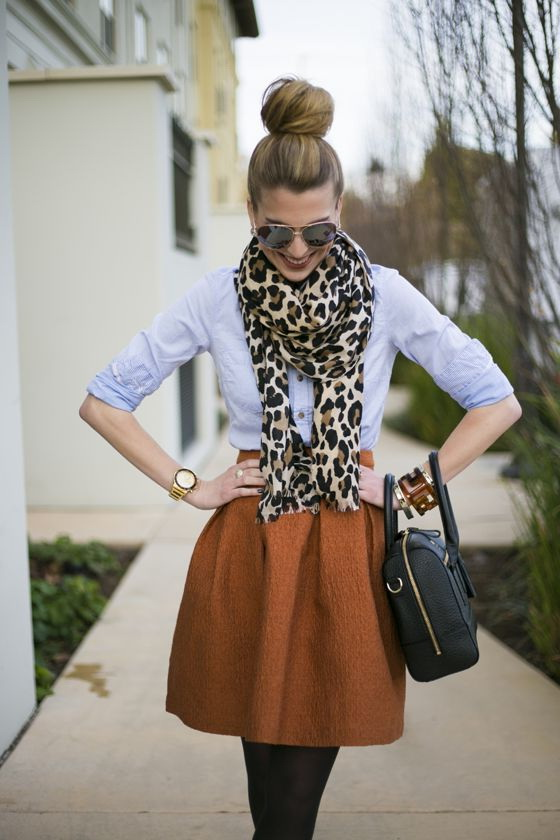 Printed Scarves Outfit Ideas For Women 2019