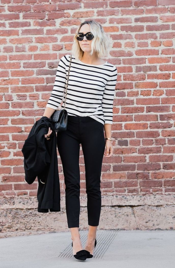 20 Ways To Style A Striped Shirt 2019