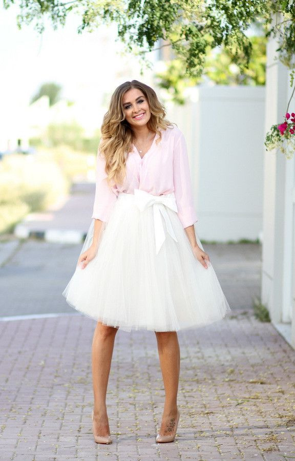 Different Ways To Style Tulle Skirts 2018