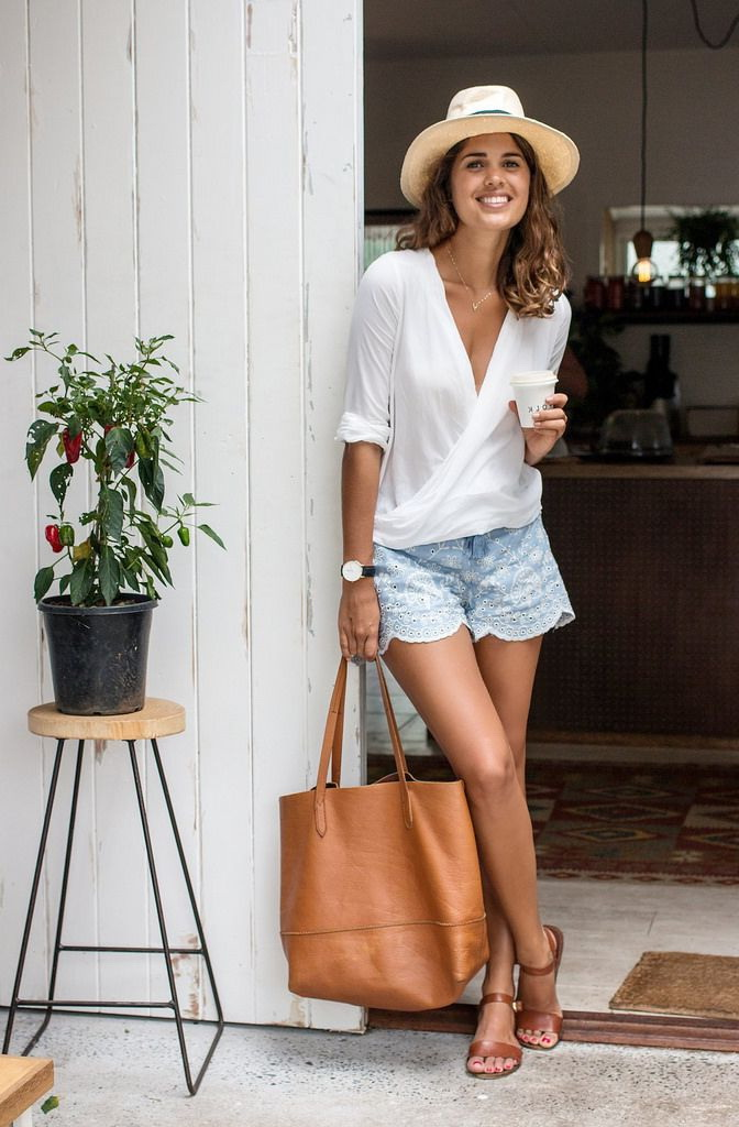 Summer Layering Outfit Ideas For Women 2019