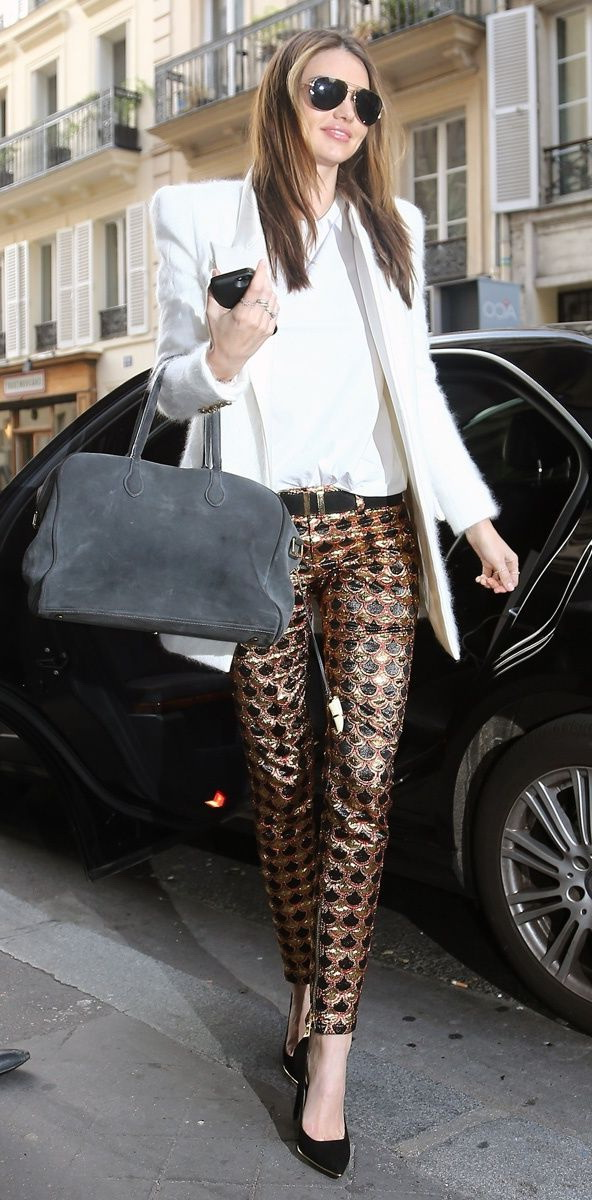 How To Style: Sequin and Metallic Pants 2021