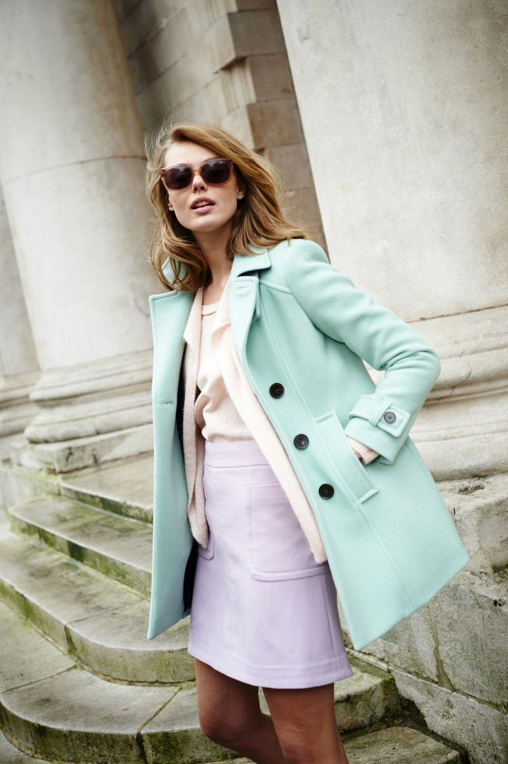 Looks - Colors: pastel how to wear pastels video