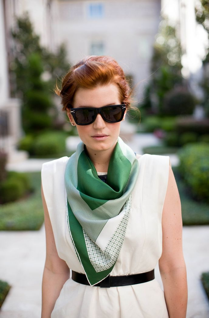 How To Wear And Tie A Scarf In Summer 2020 Fashiontasty Com
