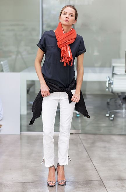 How To Wear And Tie A Scarf In Summer 2019
