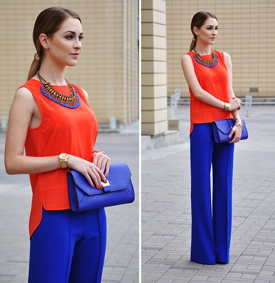 Outfit Ideas Bright Color Pants 2019