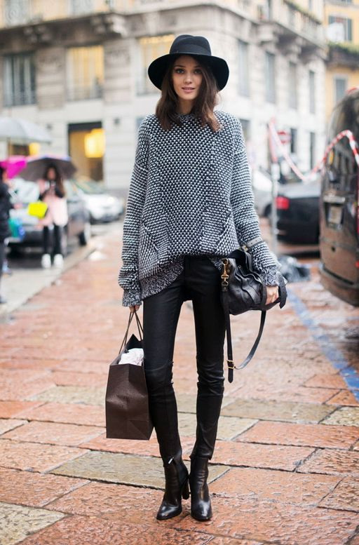 Style Ideas How To Wear Sweaters on The Streets 2019