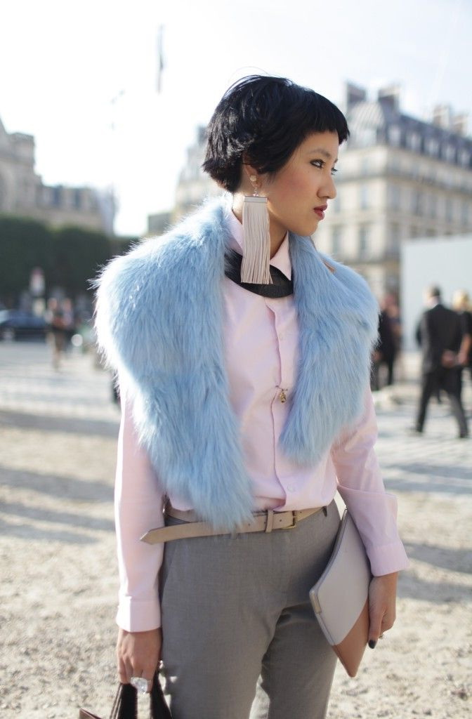 How To Wear Pastel Colors This Winter 2019