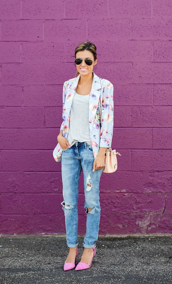 Summer Pastel Color Street Style And Outfit Ideas 2019