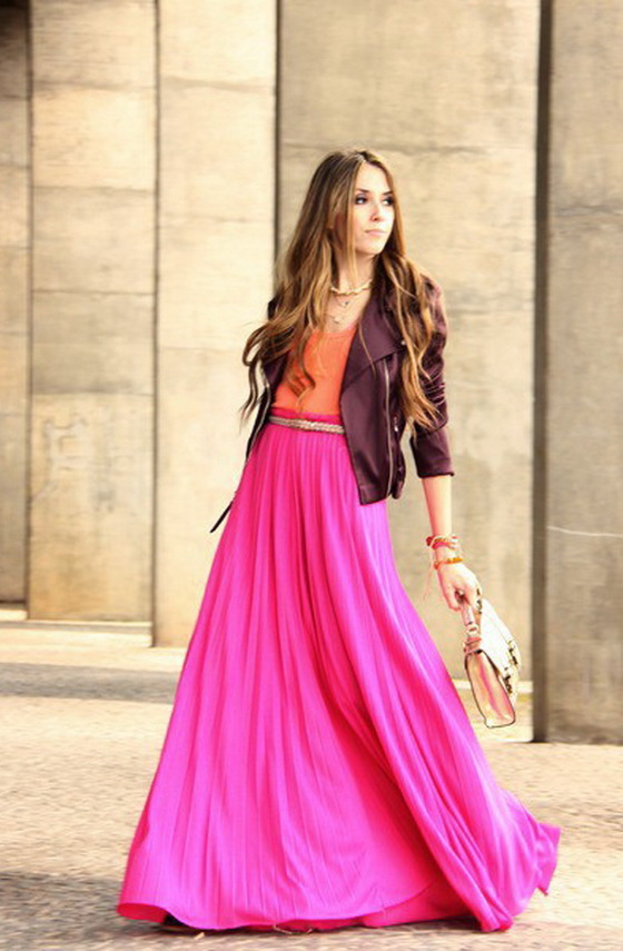 Pink Skirts And How To Wear Them 2017 | FashionTasty.com