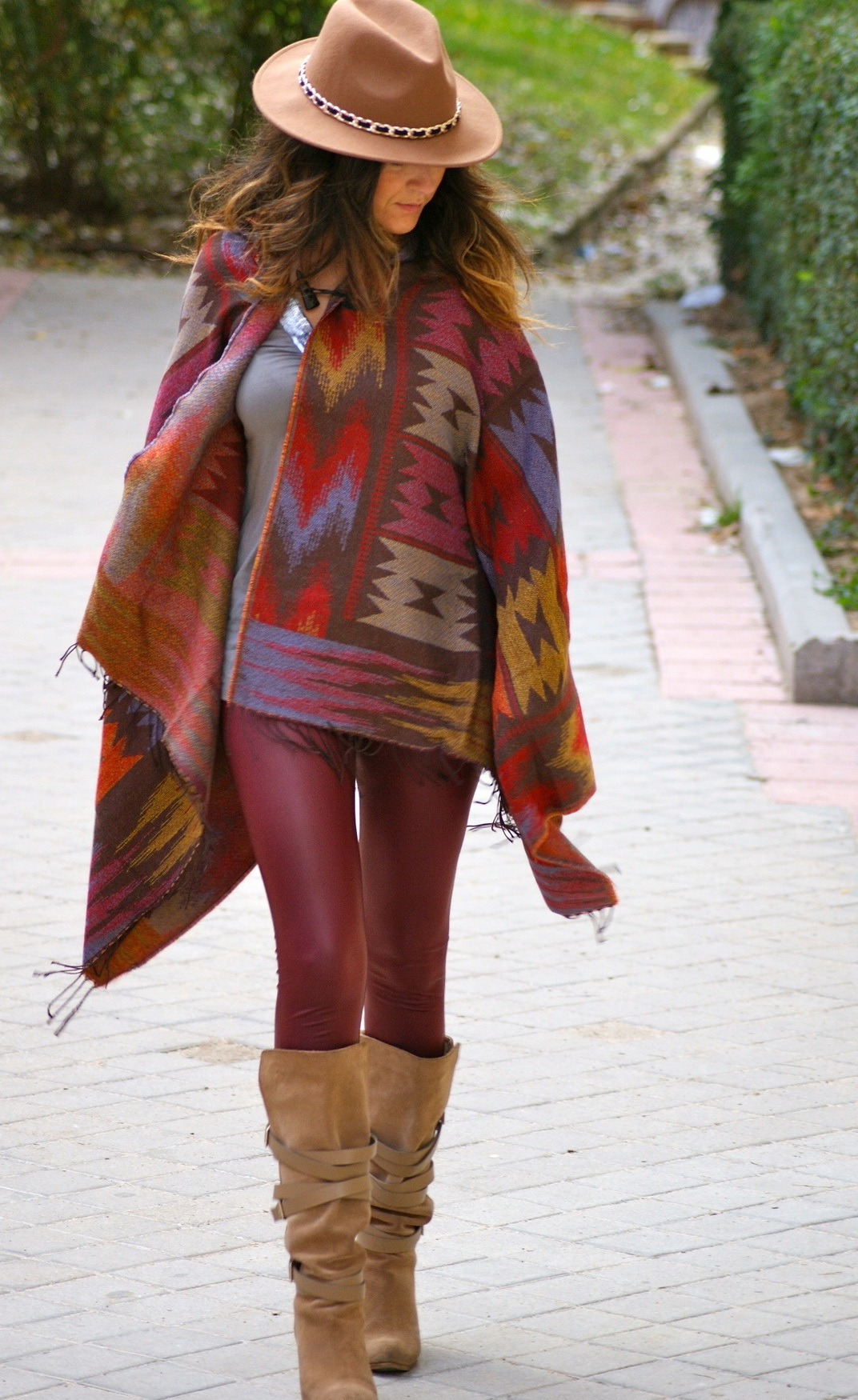 Poncho Outfit Ideas 2019