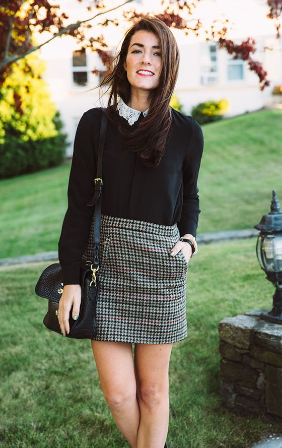 Office Skirts Combinations And Work Outfit Ideas 2019