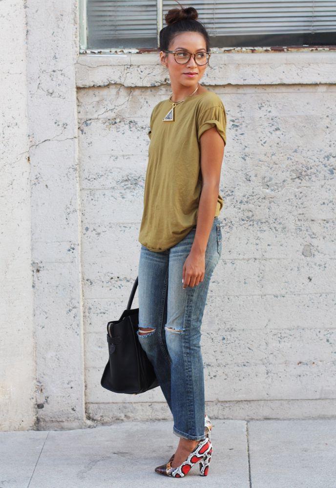 15 Ways To Style Printed Heels 2019