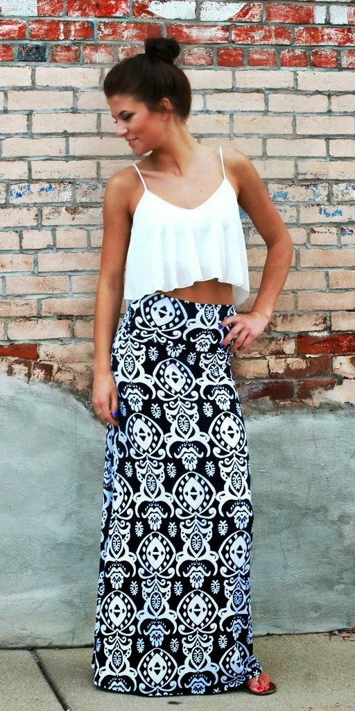 Printed Skirts Designs And Outfit Ideas 2020