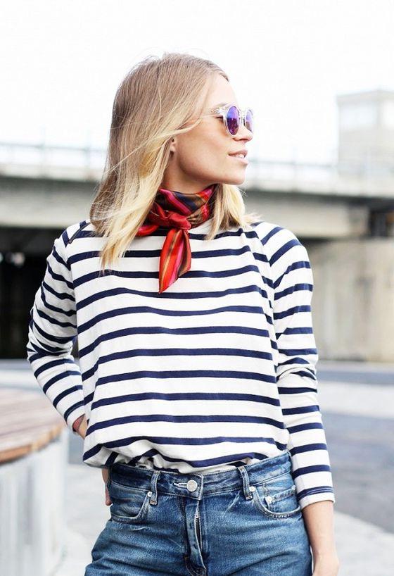 25 Ways to Wear a Scarf - Street Style Ideas 2020