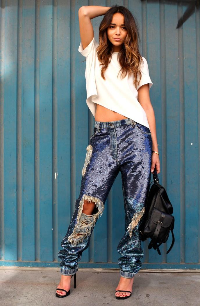 How To Wear Boyfriend Jeans (Outfit Ideas) 2017