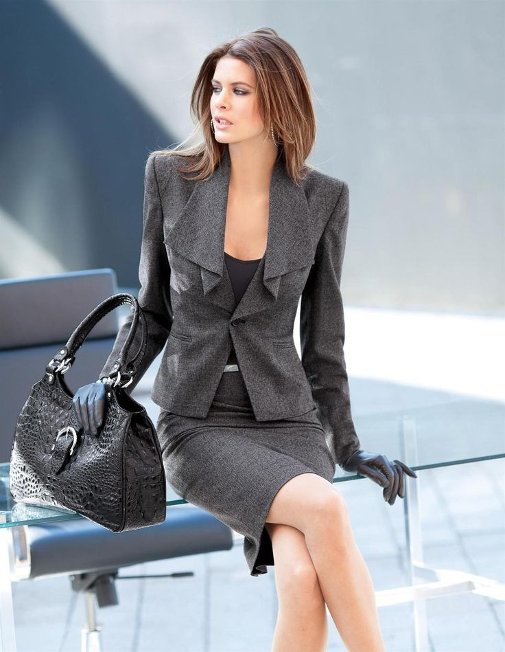 Skirt Suits Designs For Work 2019