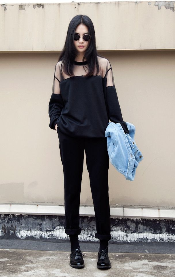 Sheer Tops Outfits 2021