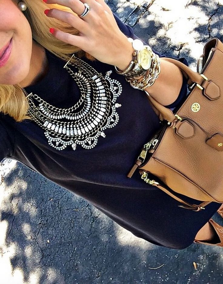 30 Ways To Style Chunky Necklaces 2021