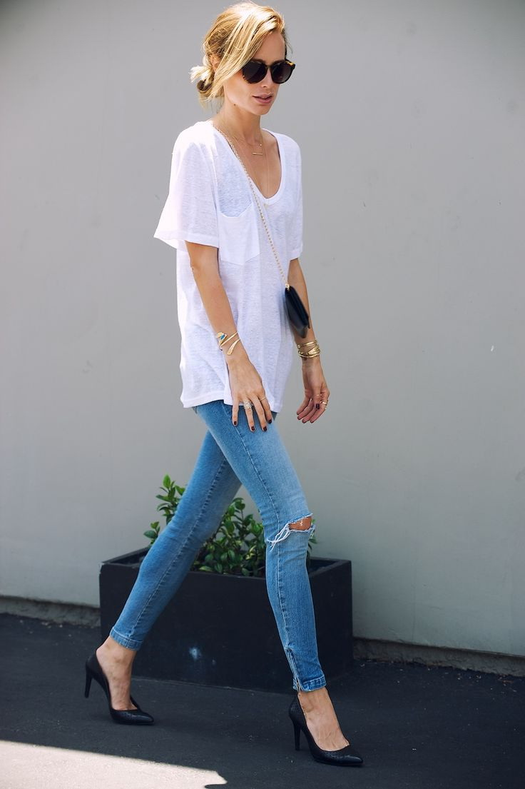 How To Style Ripped Skinny Jeans 2019