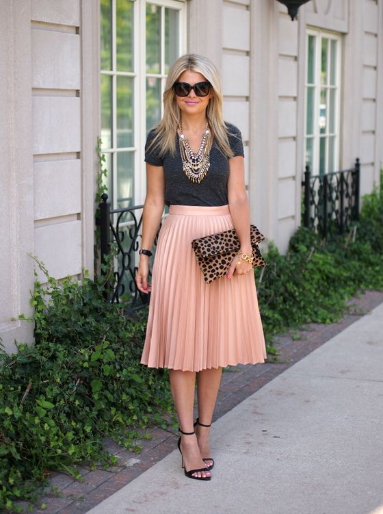 what to wear with pleated skirts 2018 fashiontasty