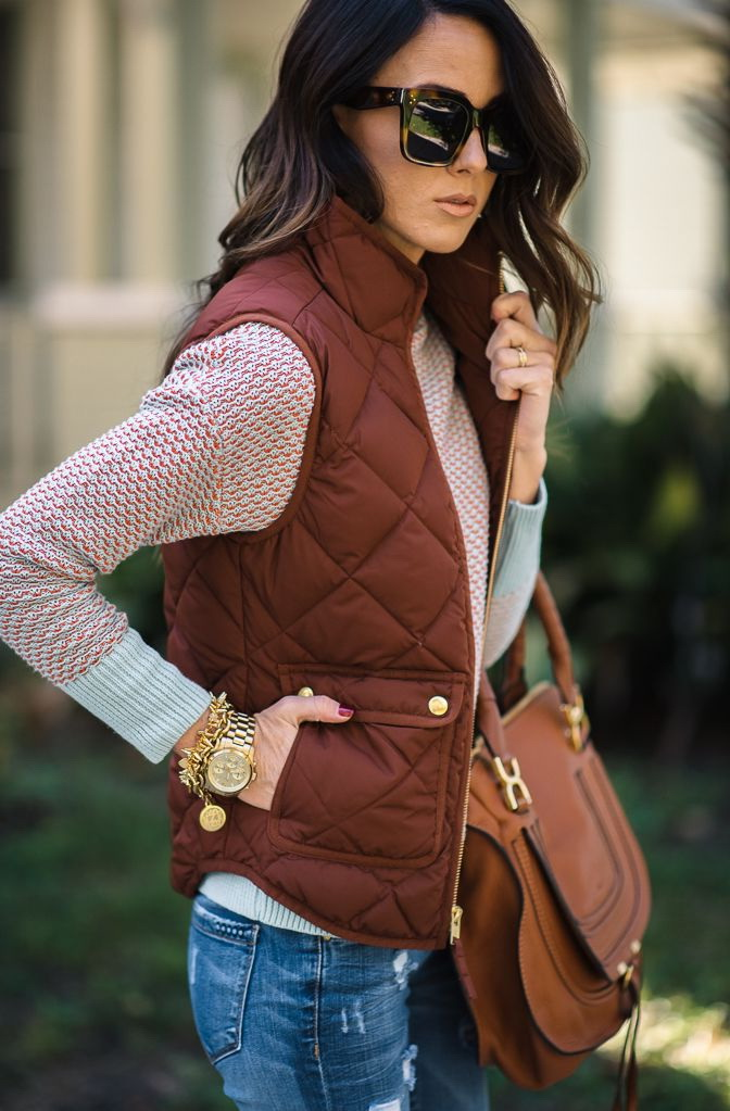 Women's Vests And Outfit Ideas For Winter 2021
