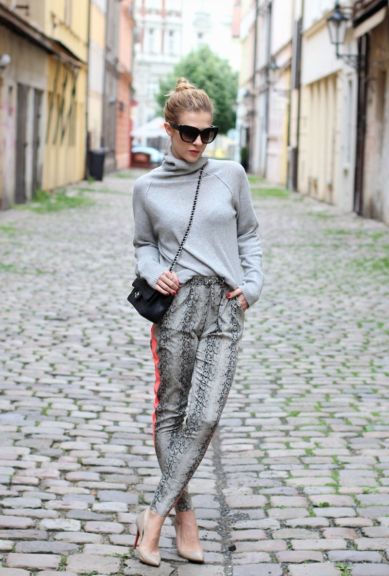 Outfit Ideas With Animal Print Trousers 2019