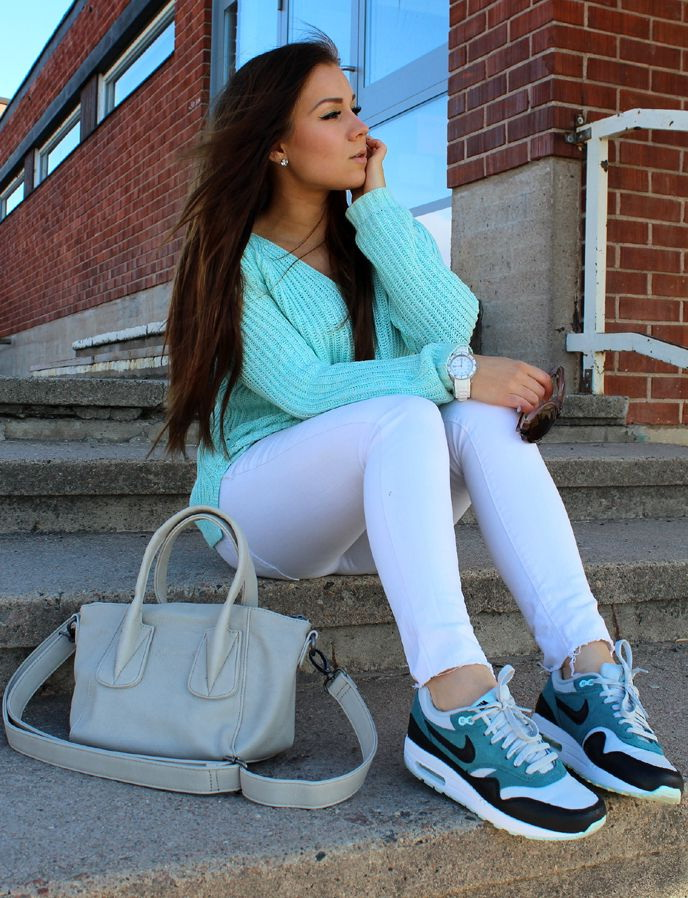 Outfit Ideas: Women's Sneakers For Work And Parties 2020