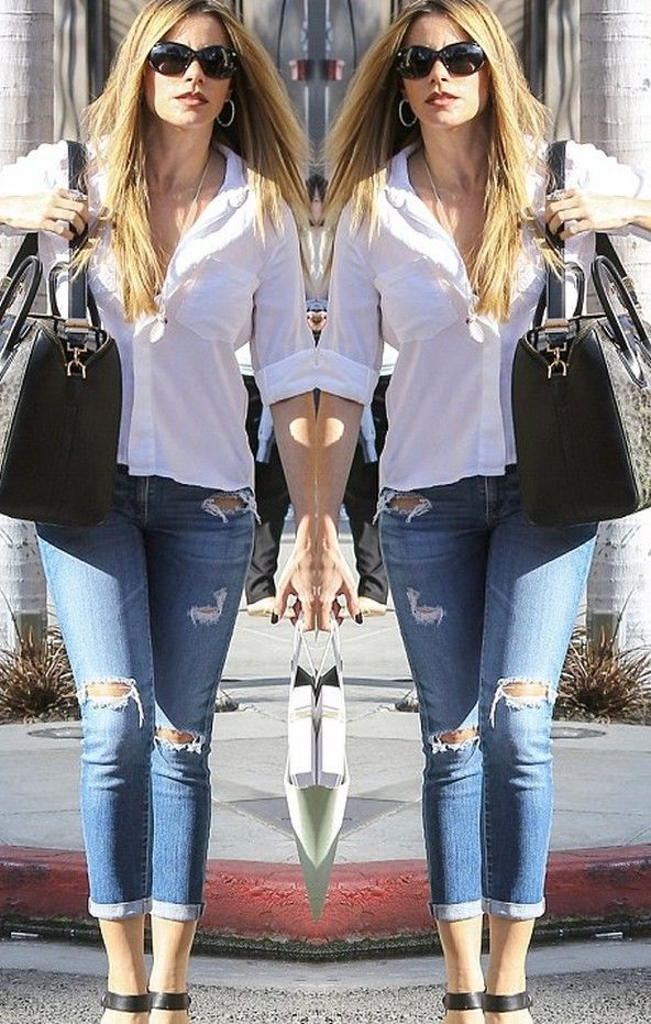 White Short Sleeve Shirt Women