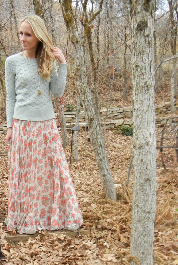 How To Wear Printed Maxi Skirts 2017