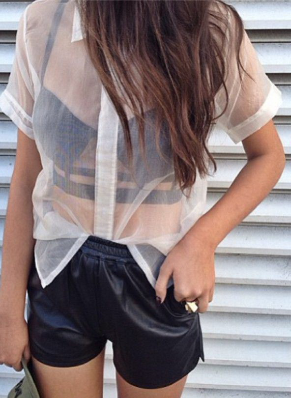 15 Ways To Style A Sheer Top 2021