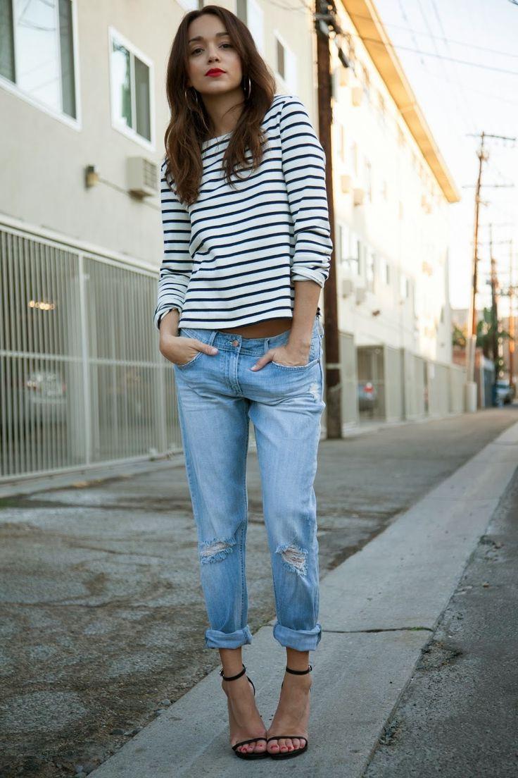20 Ways To Wear A Striped Top 2017