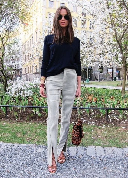 What To Wear With Striped Pants (Outfit Ideas) 2019