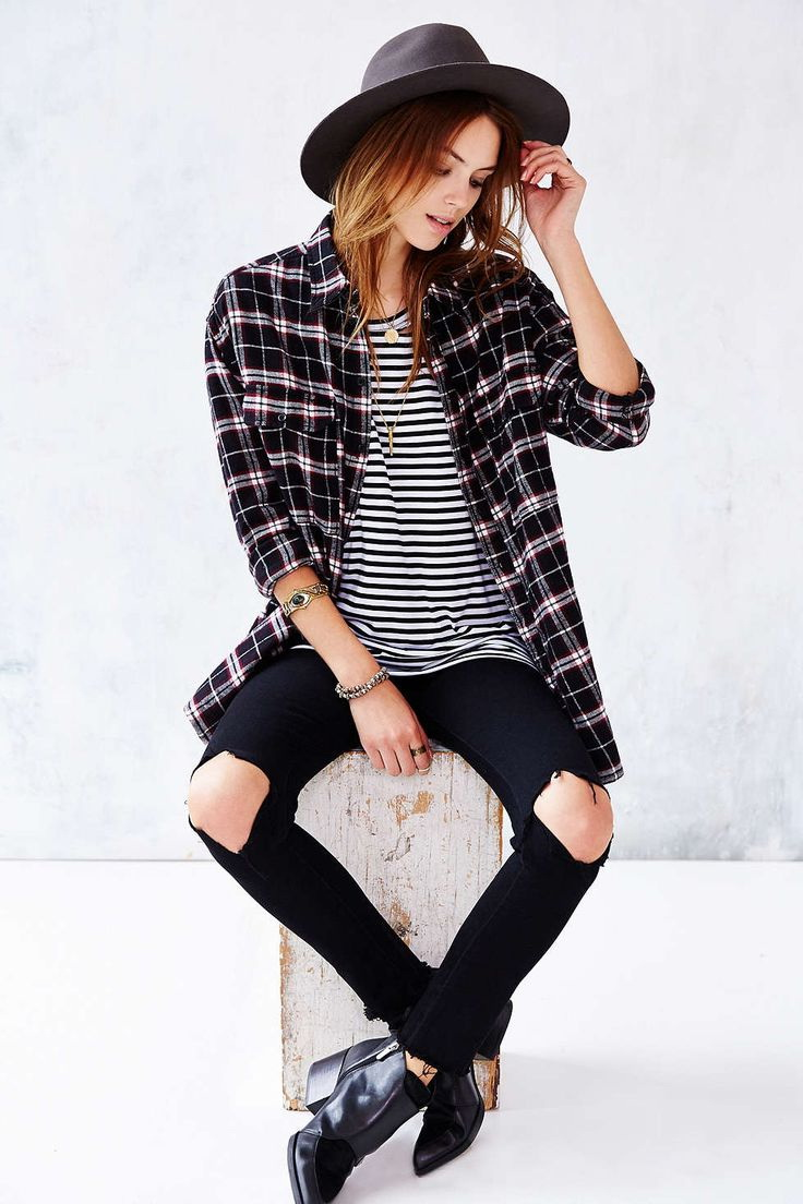 How To Wear Plaid Shirts 2018 | FashionTasty.com