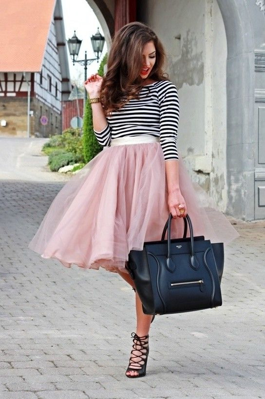 Different Ways To Style Tulle Skirts 2021