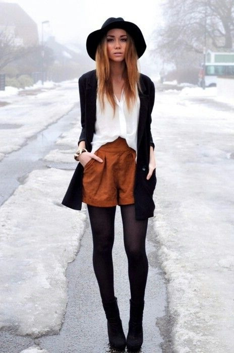 Suede Shorts Outfit Ideas 2019