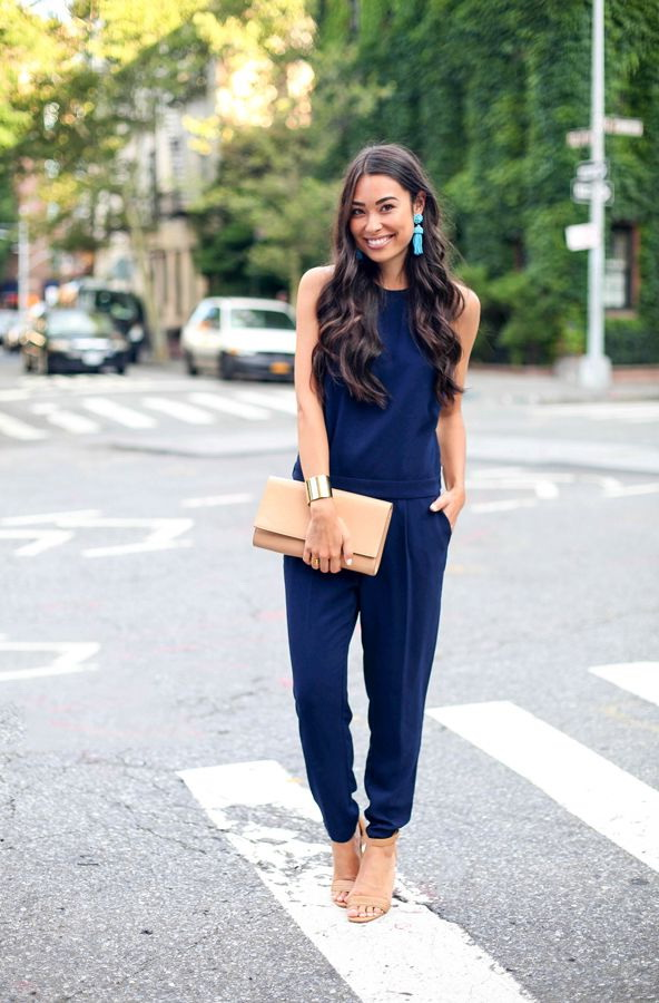 10 Ways To Style Blue Jumpsuits 2020