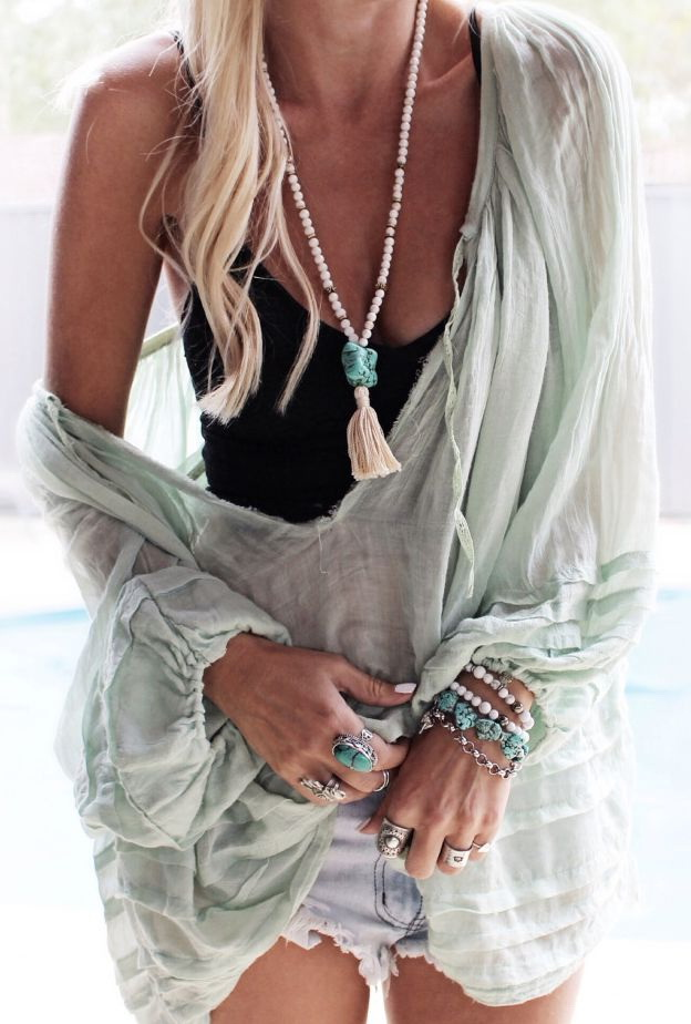 Bohemian Necklaces For Music Festival Lovers 2021