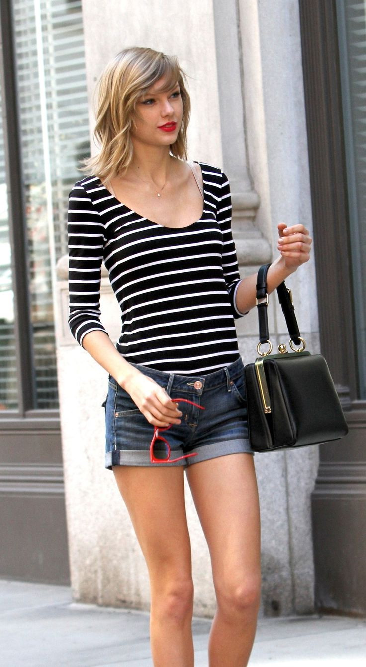 Striped Top Outfits For Women 2021
