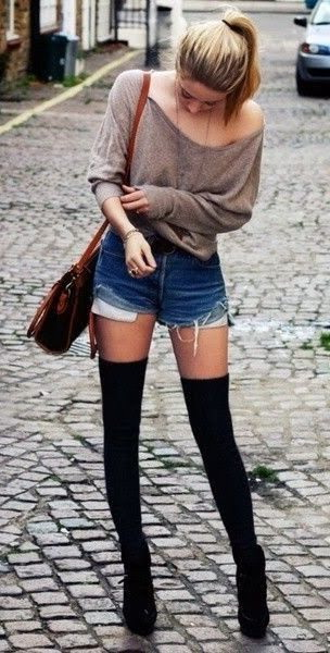 25 Ways To Wear Thigh High Socks 2019