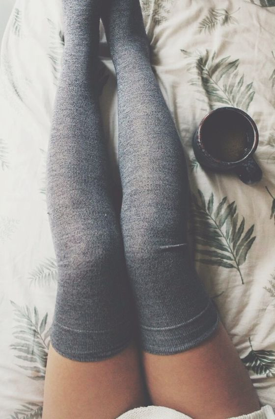 042c79db0e7c0 25 Ways To Wear Thigh High Socks 2019 | FashionTasty.com